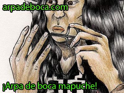 Arpa de boca mapuche