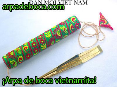 arpa de boca vietnamita